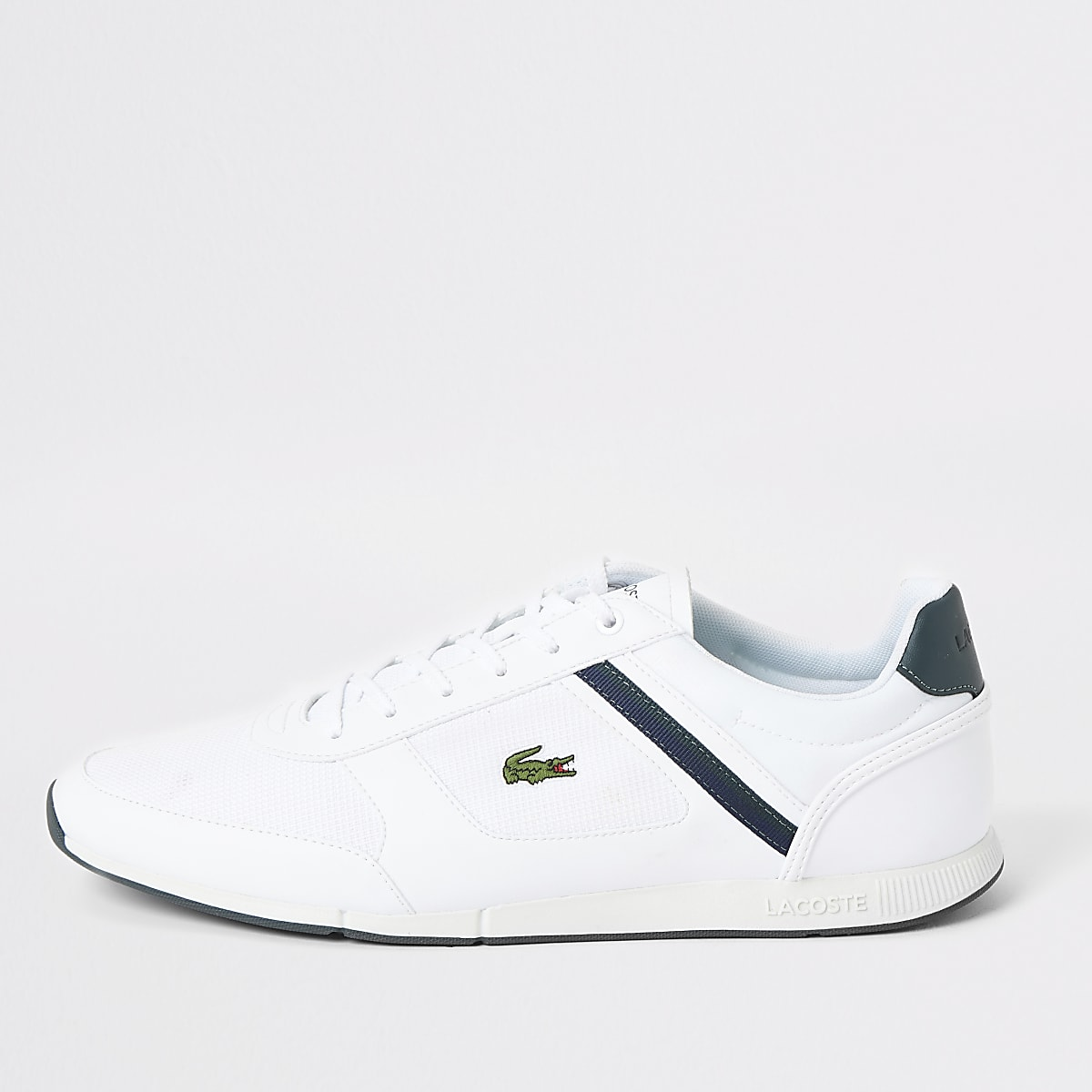 Lacoste White Lacoste Menerva Menerva Menerva Trainers Trainers Lacoste White jqzpVGLSUM