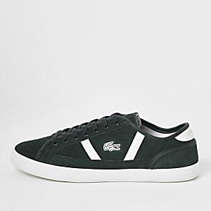 Lacoste – Sideliner – Grüne Sneakers