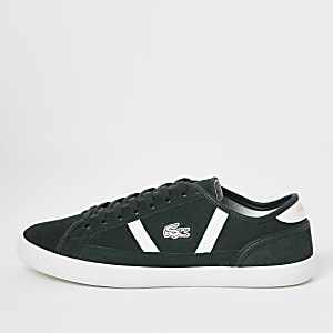 Lacoste green Sideline trainers