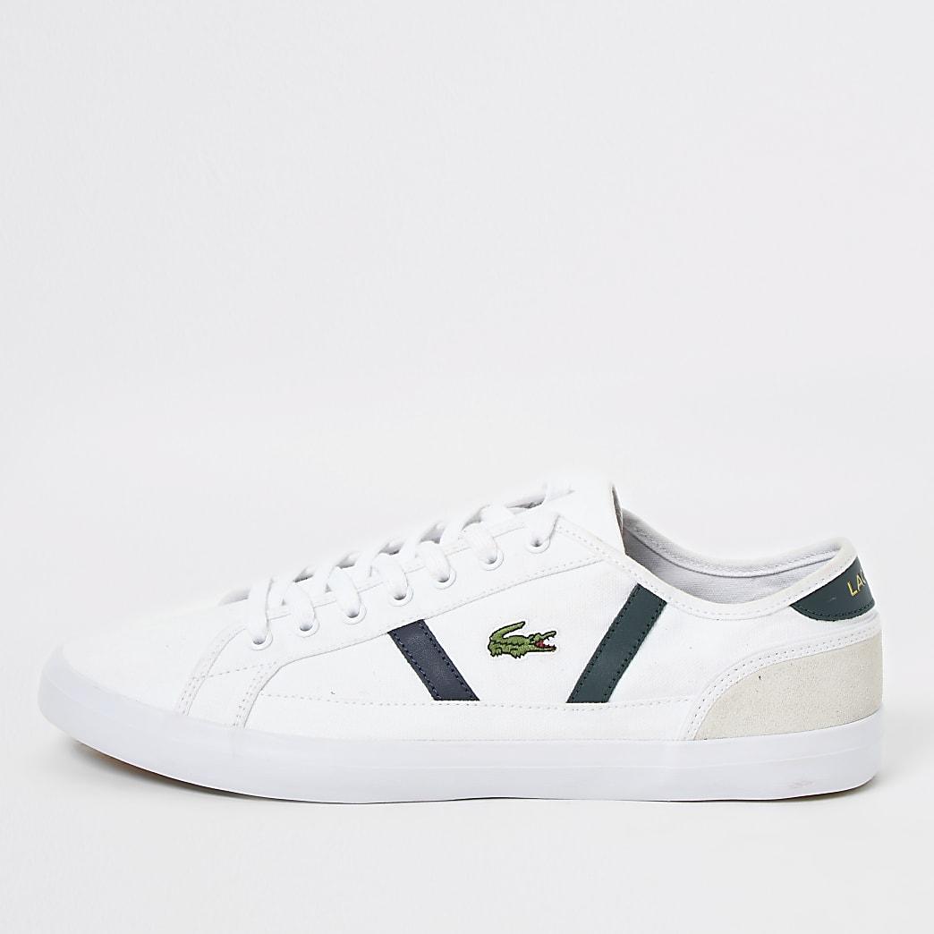 Lacoste - Sideline - Witte canvas  sneakers