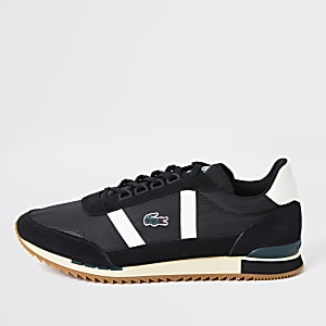 Lacoste black Partner Retro rrainers