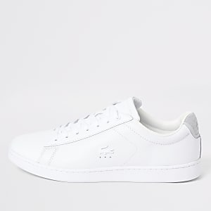Lacoste white Carnaby trainers