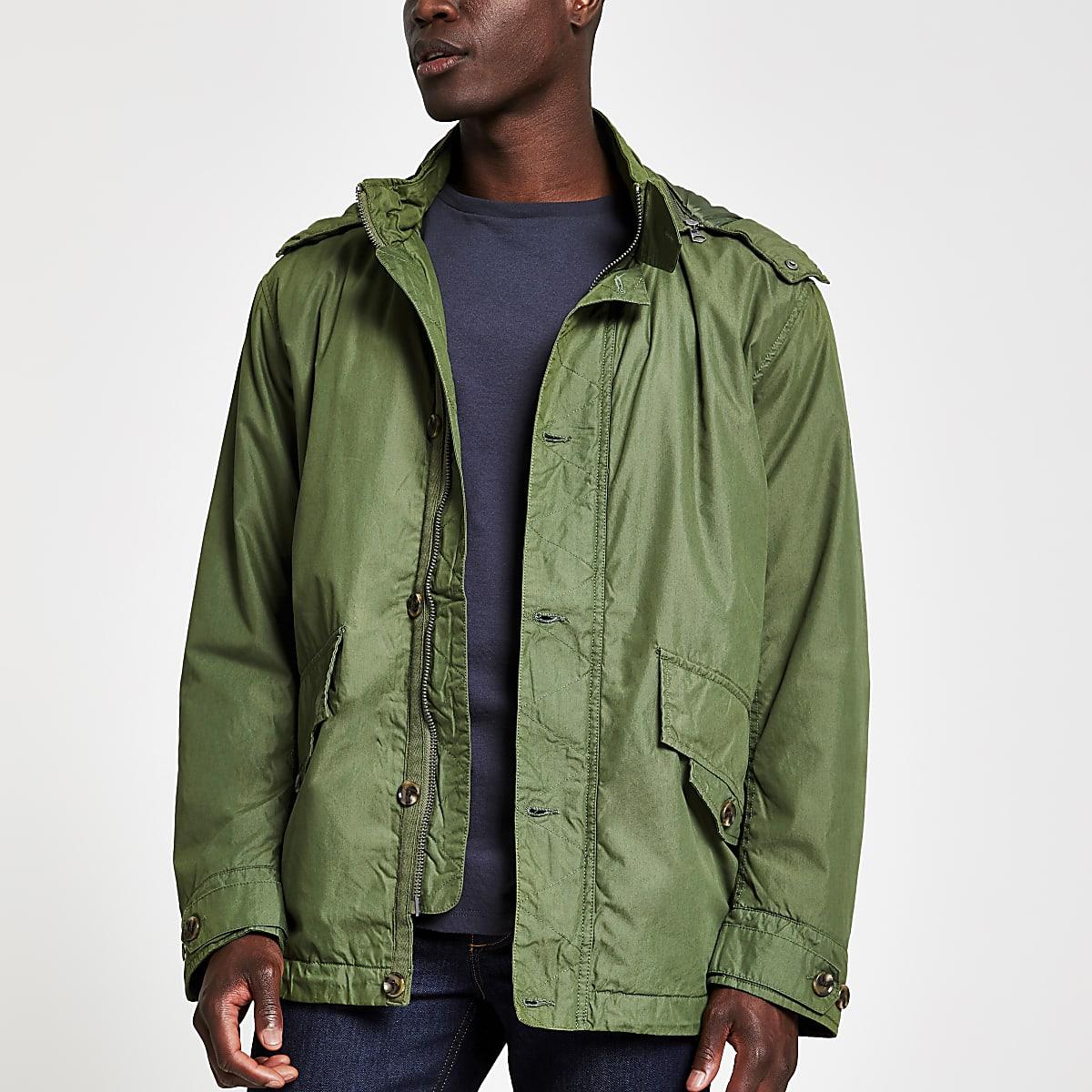 Pepe Jeans - Groen lichtgewicht jack