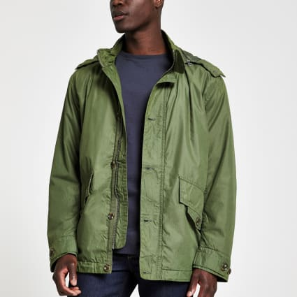 Pepe Jeans green lightweight jacket