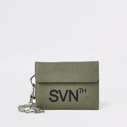 Khaki Svnth velcro wallet