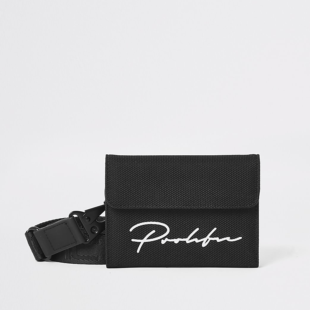 Prolific black velcro wallet