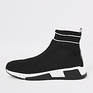 Prolific - Zwarte elastische sneakers