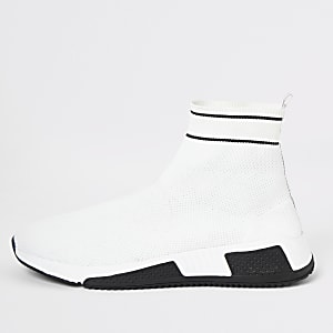 Prolific - Witte soksneakers