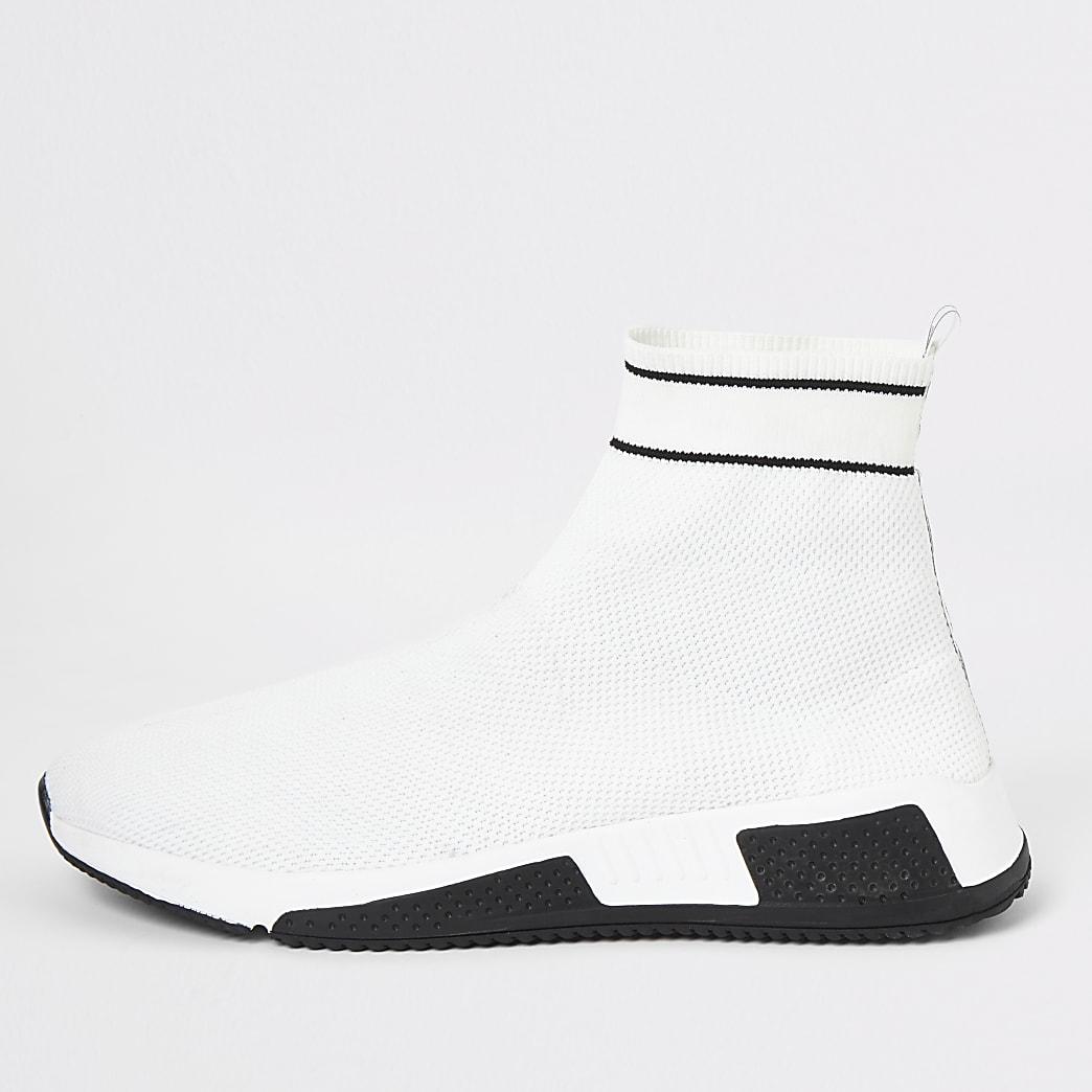 Prolific - Witte elastische sneakers