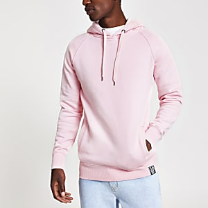 Year Dot – Sweat à capuche rose à logo imprimé dans le dos