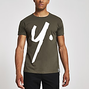 Year Dot dark green logo T-shirt