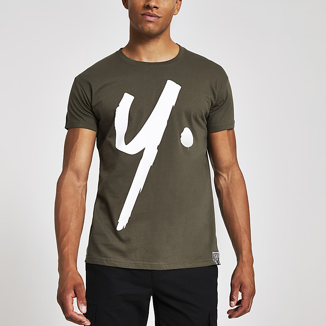 Year Dot – T-shirtvert foncé à logo