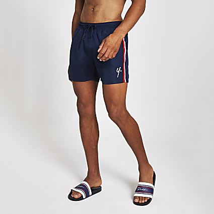 Year Dot navy swim shorts
