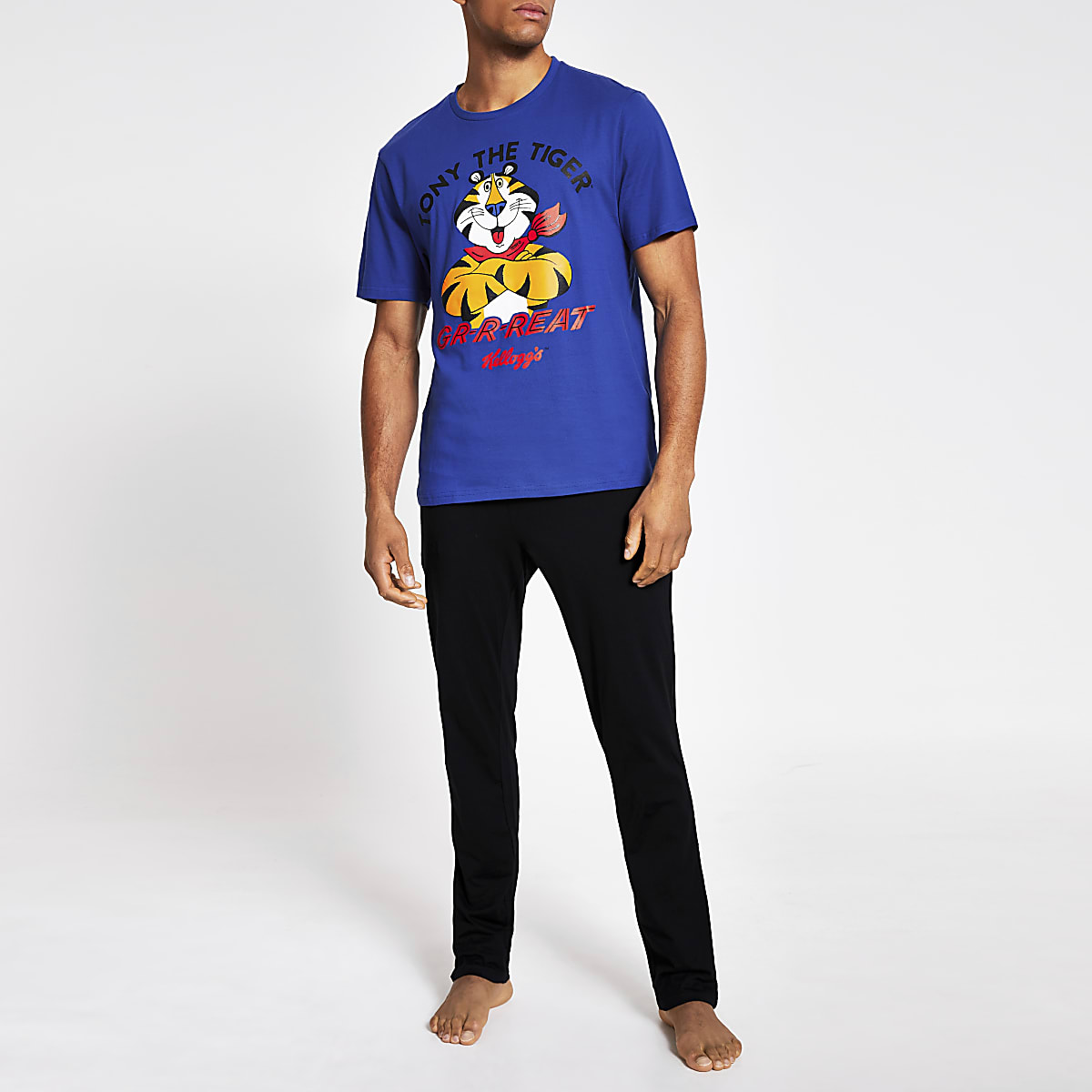 Pyjama bleu Tony the Tiger Kelloggs