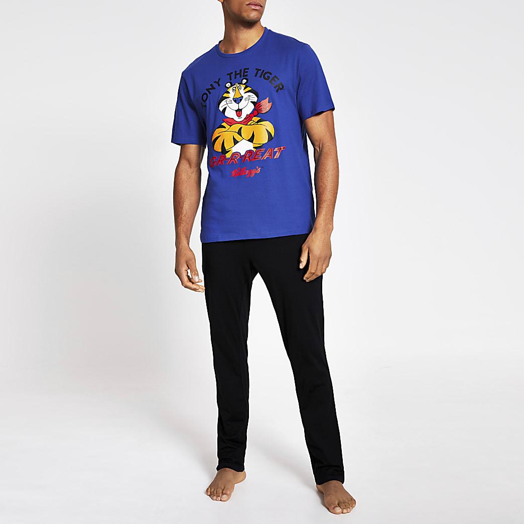 Blauwe Kellogg's Tony the Tiger pyjama set