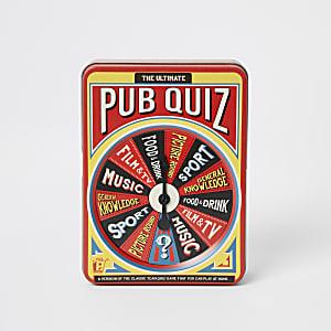 Coffret Theultimate pub quiz
