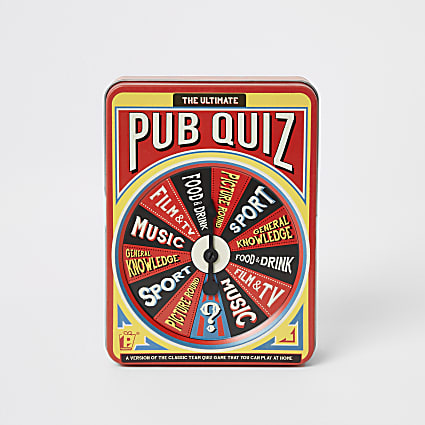 The ultimate pub quiz set
