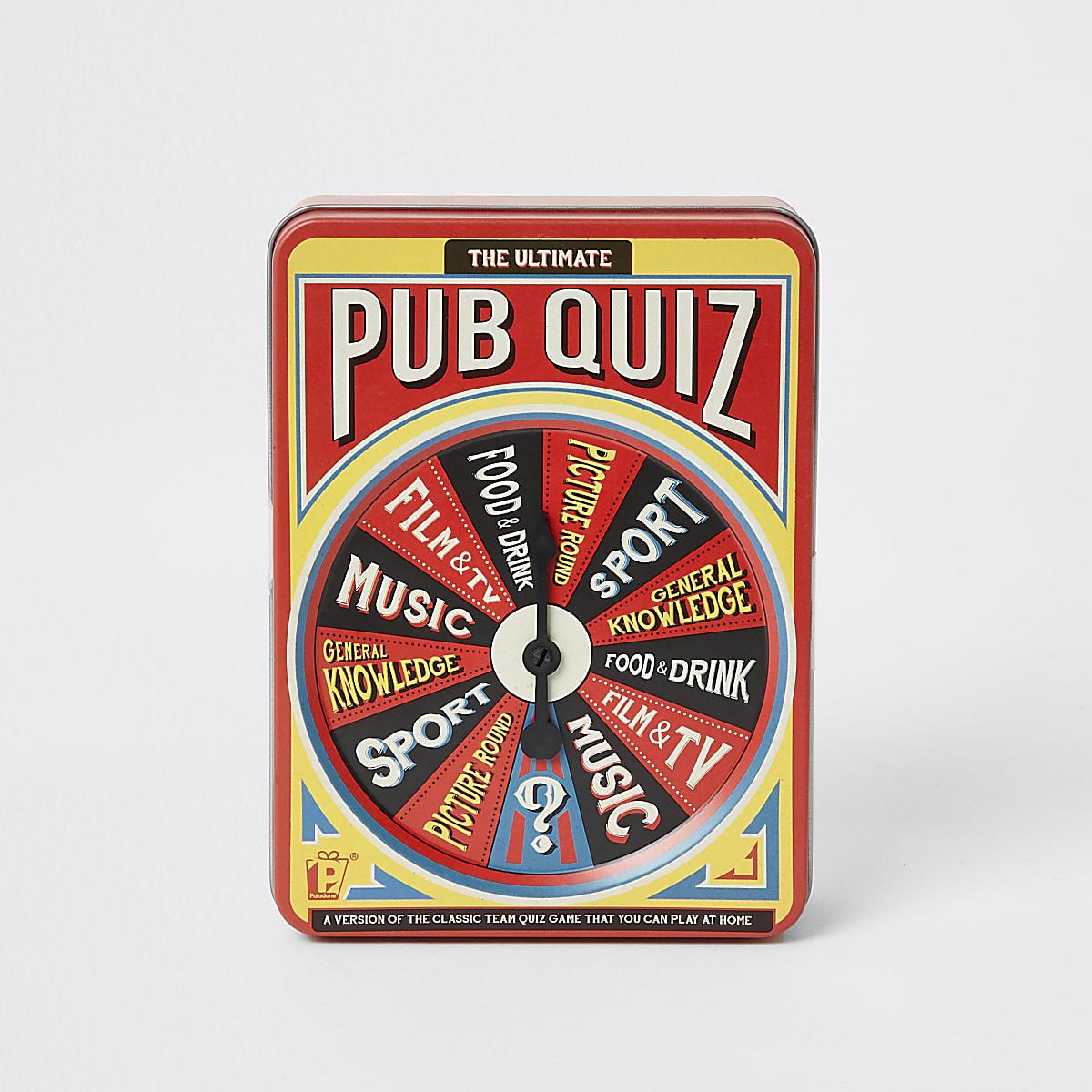 The ultimate pub quiz set