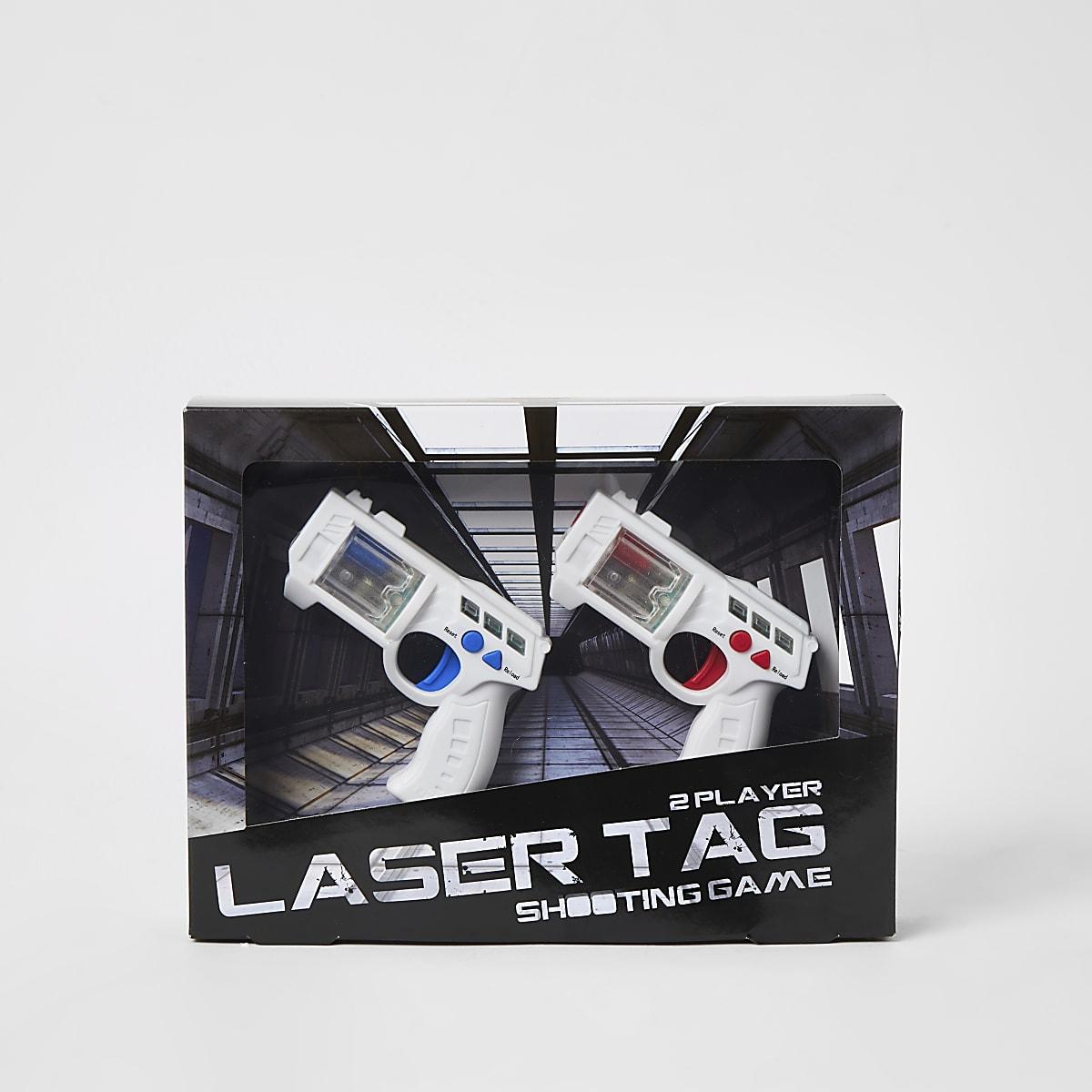 Laser tag 2 player shooting game