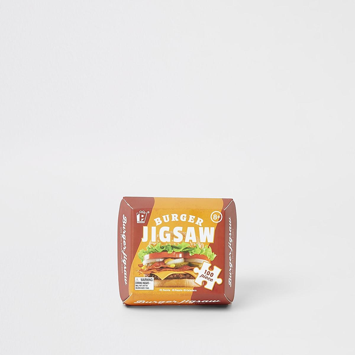 Burger 100 piece jigsaw puzzle