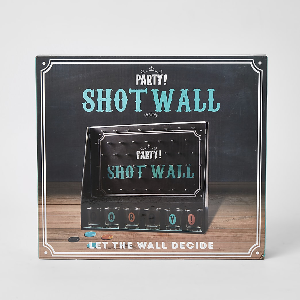 Party shot wall game