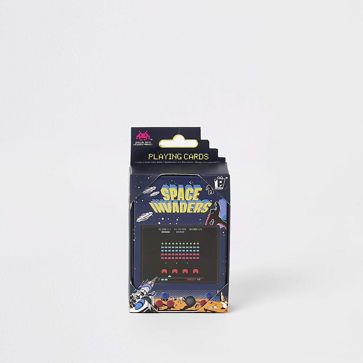 Space Invaders playing cards and tin set