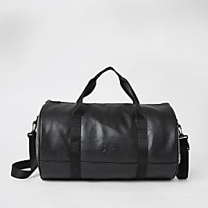 Schwarze Reisetasche mit RVR-Band