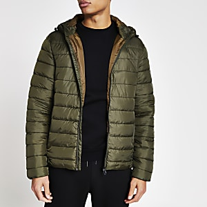 Only & Sons – Steppjacke in Khaki