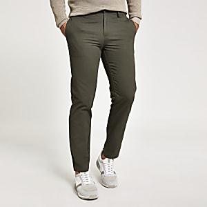 Pantalon chinoslim kaki