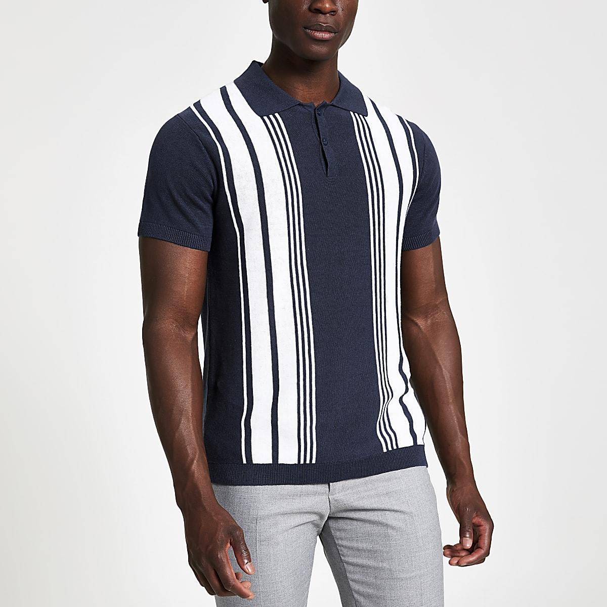 Jack & Jones – Blaues Polohemd