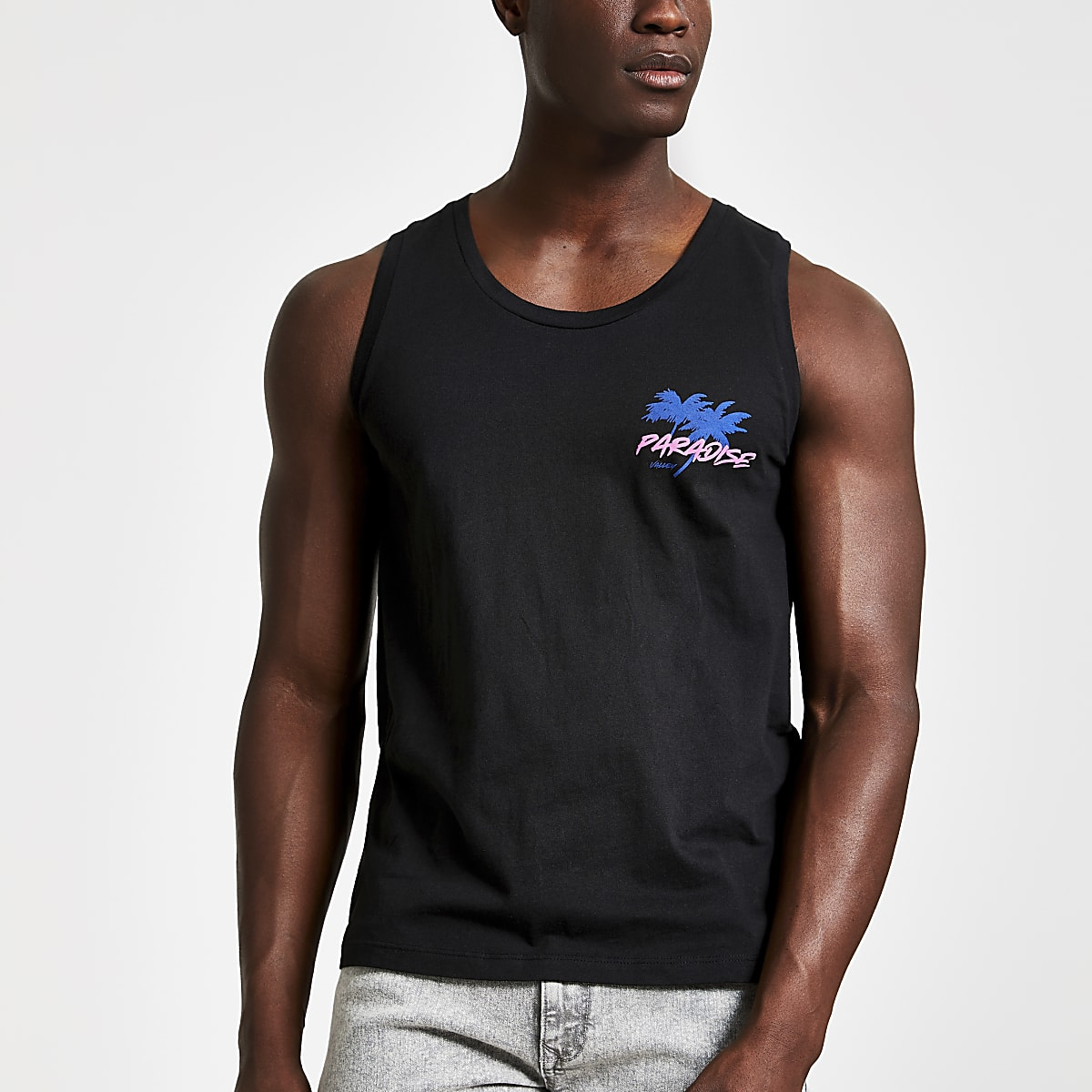 Jack and Jones black tank top