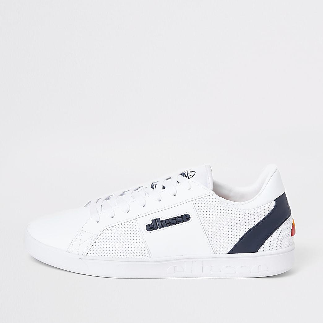 Ellesse - Witte LS-80 leren sneakers
