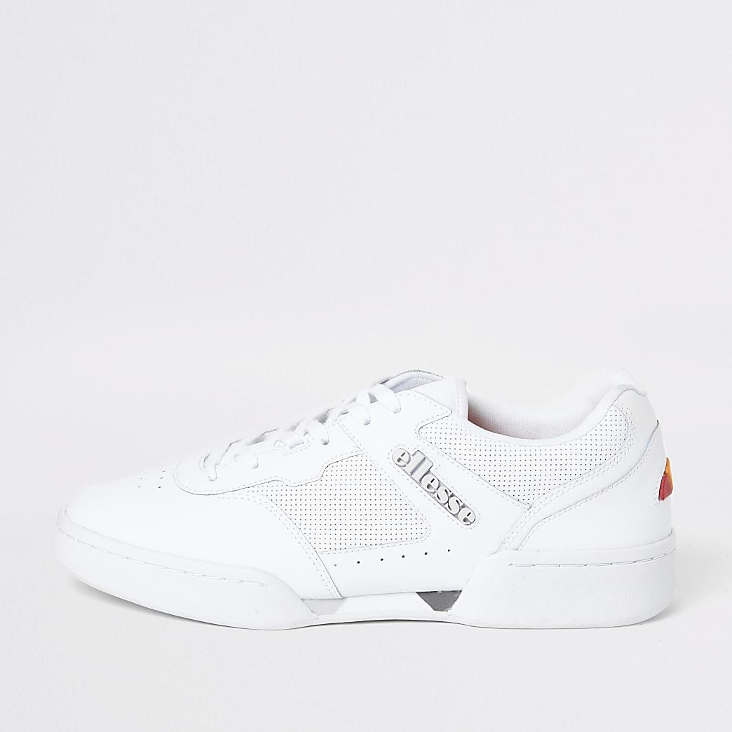 Ellesse Piacentino white trainers