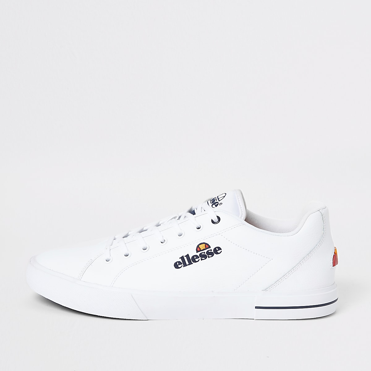 Ellesse white Taggia leather trainers