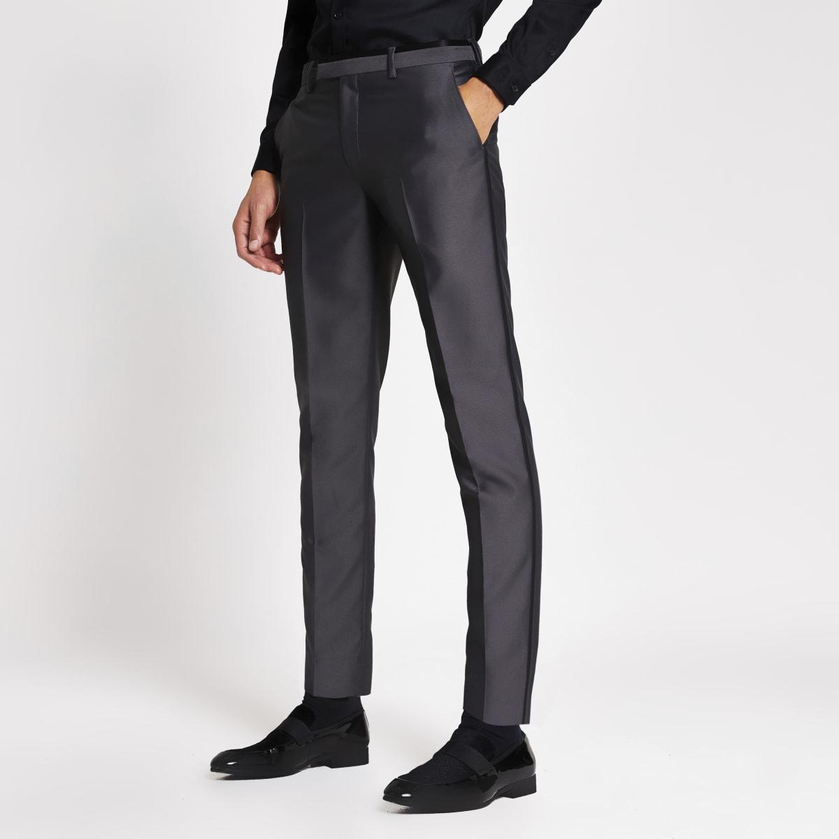 Grijze tonic skinny pantalon