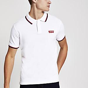 Levi's – Weißes Polohemd
