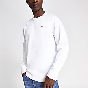 Levi's Original – Weißes Sweatshirt