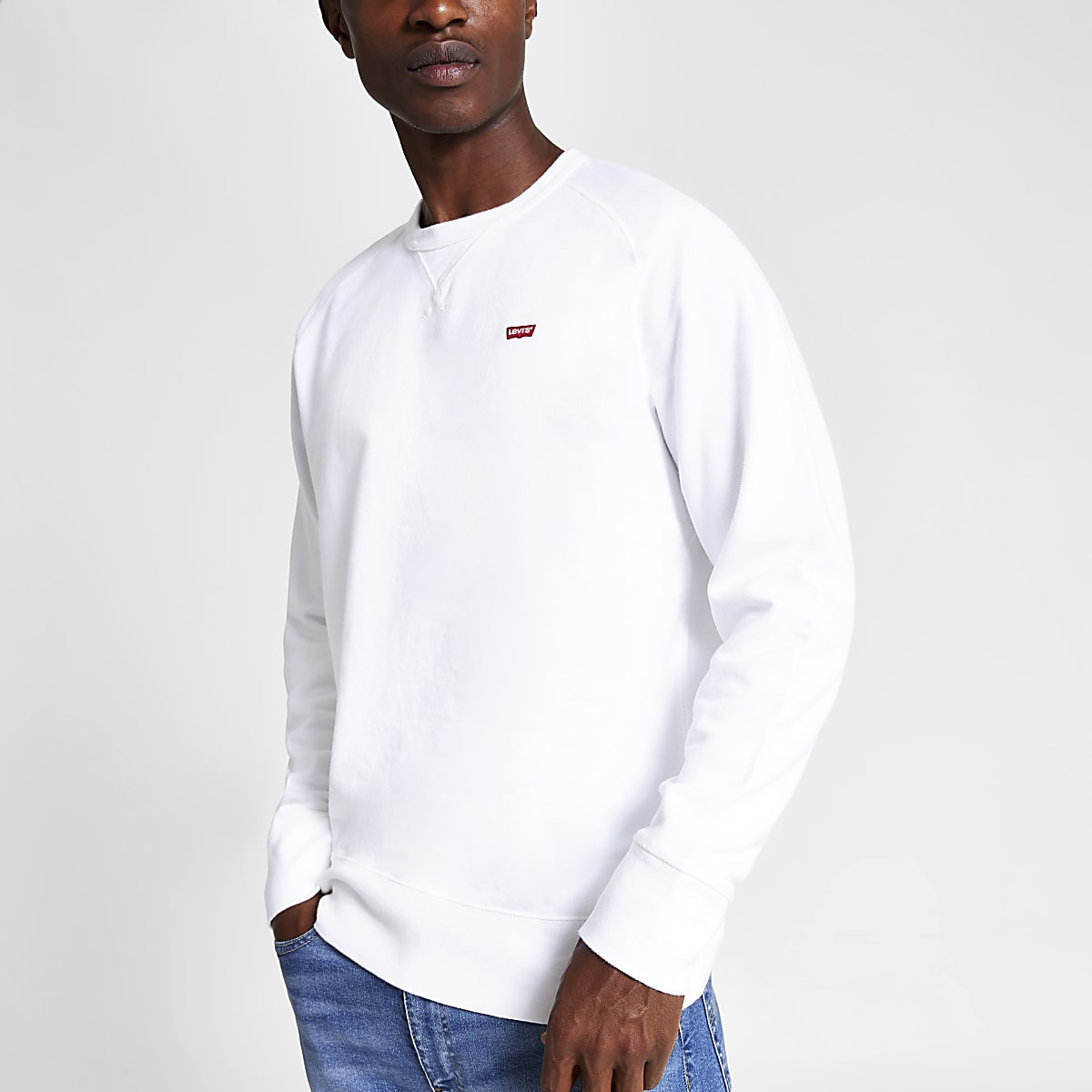 Levi's Original – Sweat blanc