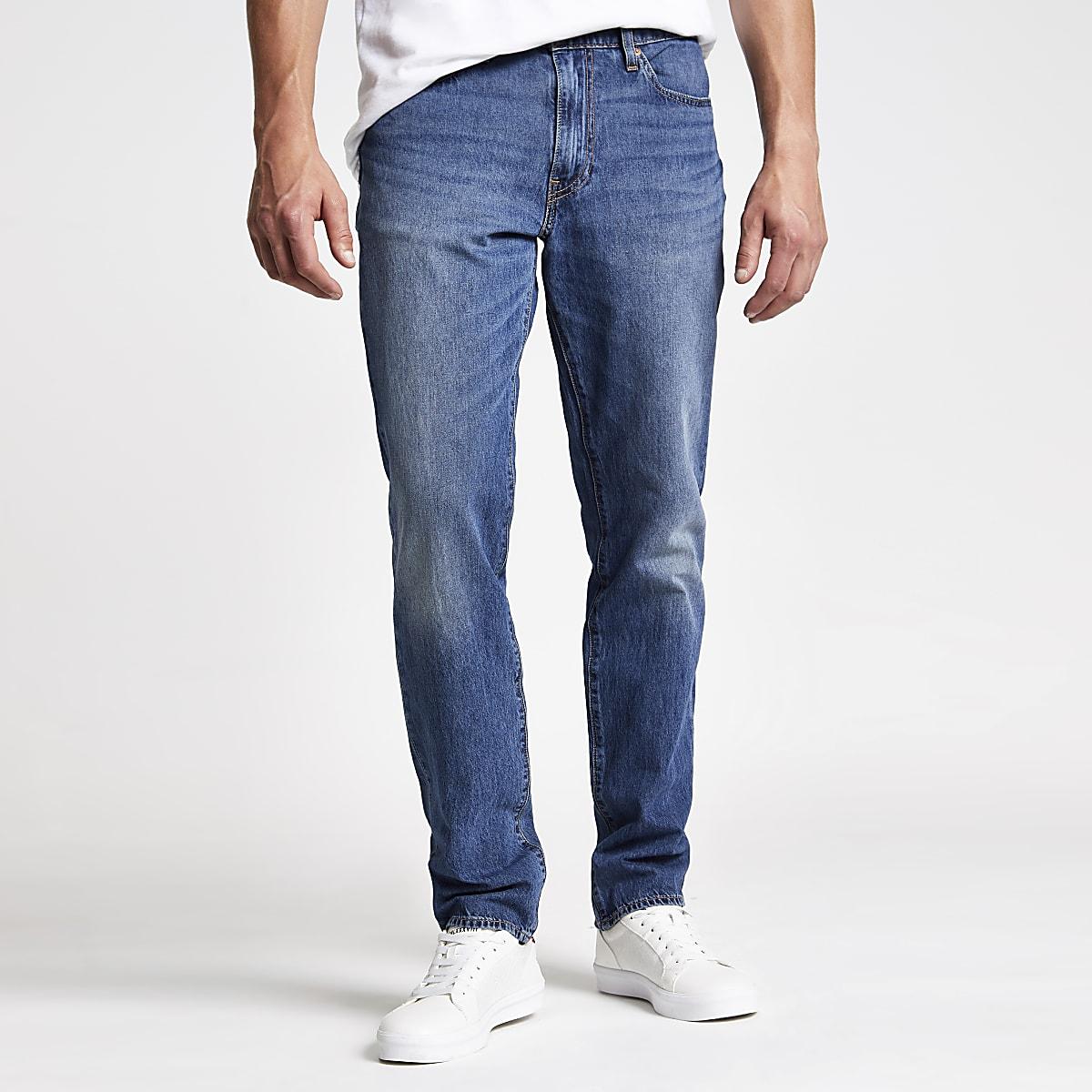Levi's - Blauwe 511 slim-fit jeans