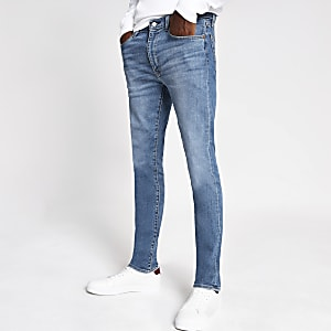 Levi's light blue extreme skinny jeans