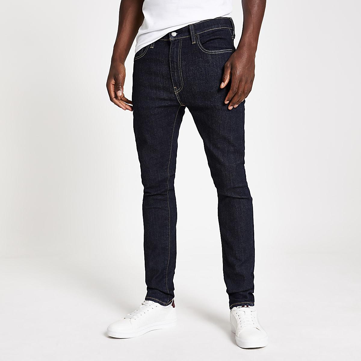 Levi's dark blue 519 extreme skinny jeans