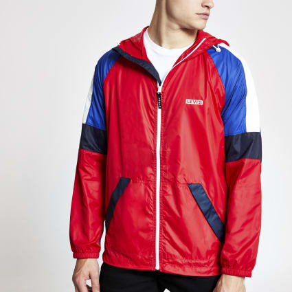 Levi's red block lightweight jacket
