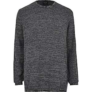 Big and Tall Only & Sons navy jumper