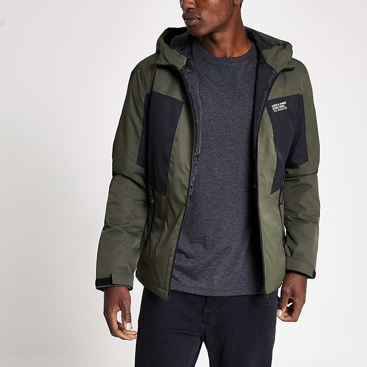 Jack and Jones green lightweight jacket