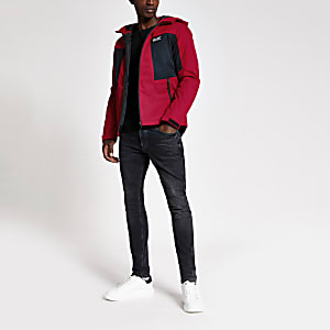 Jack and Jones red lightweight jacket