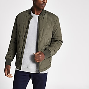 Jack and Jones - Blouson matelassé  vert