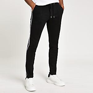 Pantalon de jogging ultra skinny habillé noir