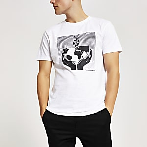 "Bellfield – T-Shirt ""Our Planet"" aus 100 % Bio-Baumwolle"