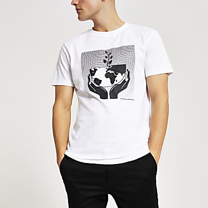 Bellfield Our Planet 100% organic T-shirt
