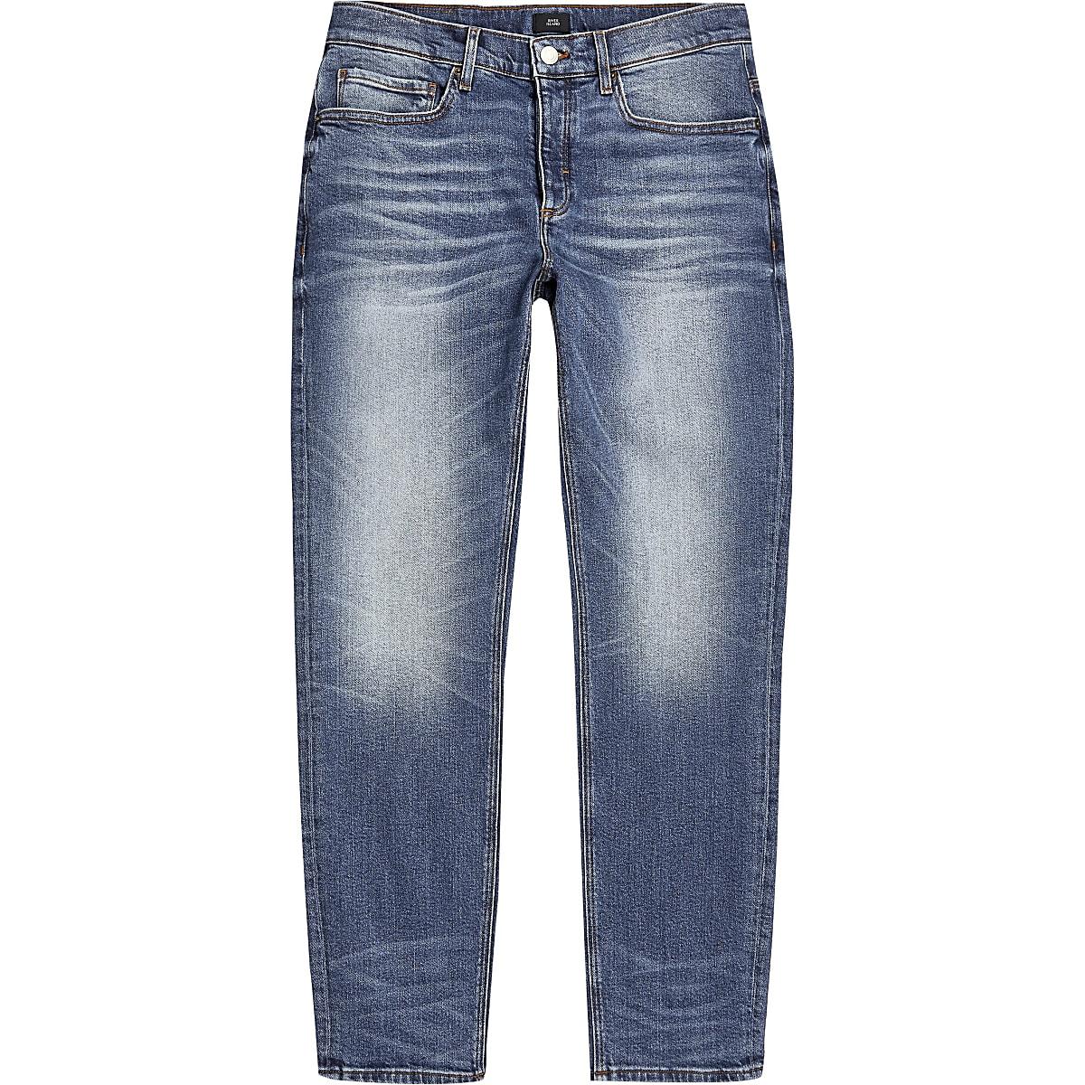 Big and Tall - Jean slim bleu Dylan